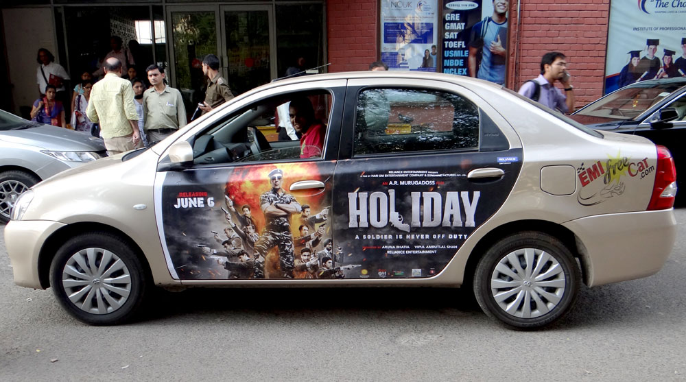 Get Paid For Car Advertising Stickers India