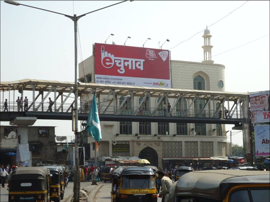 EMI Free Car Hoarding on Bandra Mumbai - India